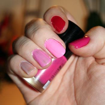 pink mani-flash