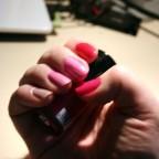 pink mani-noflash