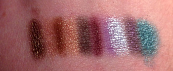 Awesome Eyeshadow Swatches